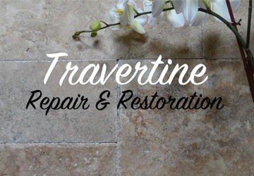 Travertine Repair & Restoration