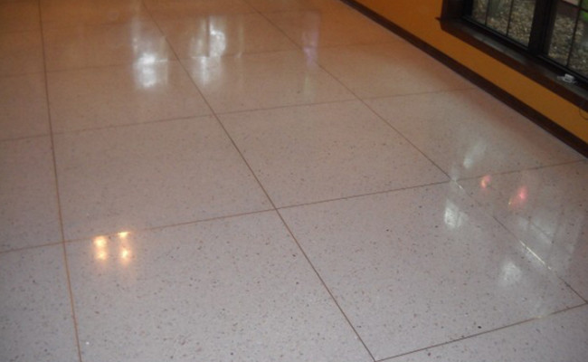 terrazzo restored to like new