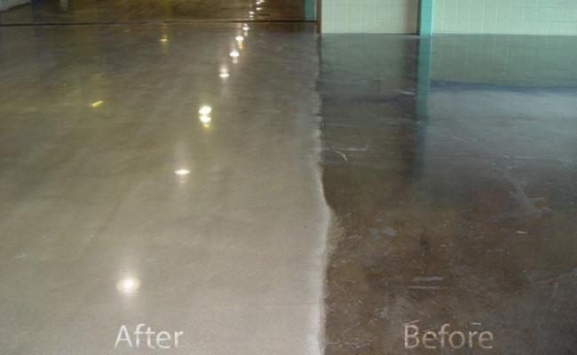 Alamodome floor restoration