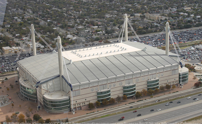 Alamodome from the Tower of the Americas