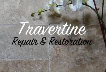 Travertine Repair & Restoration