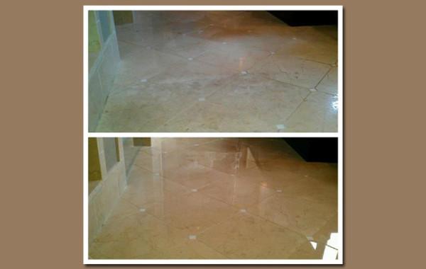 Marble Floor Polished