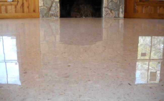 New Life For Terrazzo Floor Stonecare Of Texas
