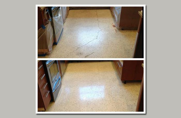 Terrazzo Floor Crack Repair Stonecare Of Texas