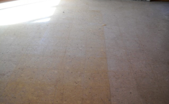 terrazzo floor looks hopeless