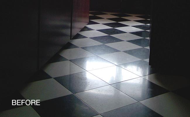 checkerboard-marble-floor-before