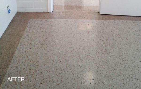 Firehouse Terrazzo Floor