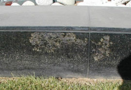 Why is my natural stone flaking?